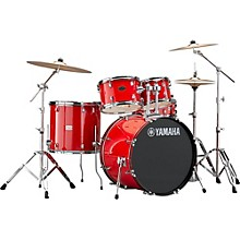 Rydeen 5-Piece Shell Pack with 22 in. Bass Drum Hot Red