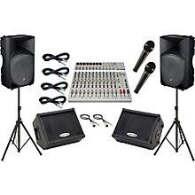 Alesis S-16 / Mackie Thump TH-15A Mains and Monitors Package
