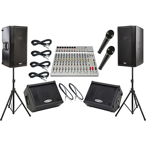 Alesis S 16 Qsc K12 Mains And Monitors Package Guitar