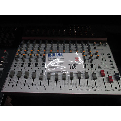 Alesis S-16 16 Channel Unpowered Mixer