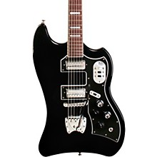S-200 TBird Solid Body Electric Guitar Black
