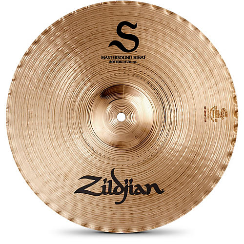 Zildjian S Family Mastersound Hi-hat Bottom