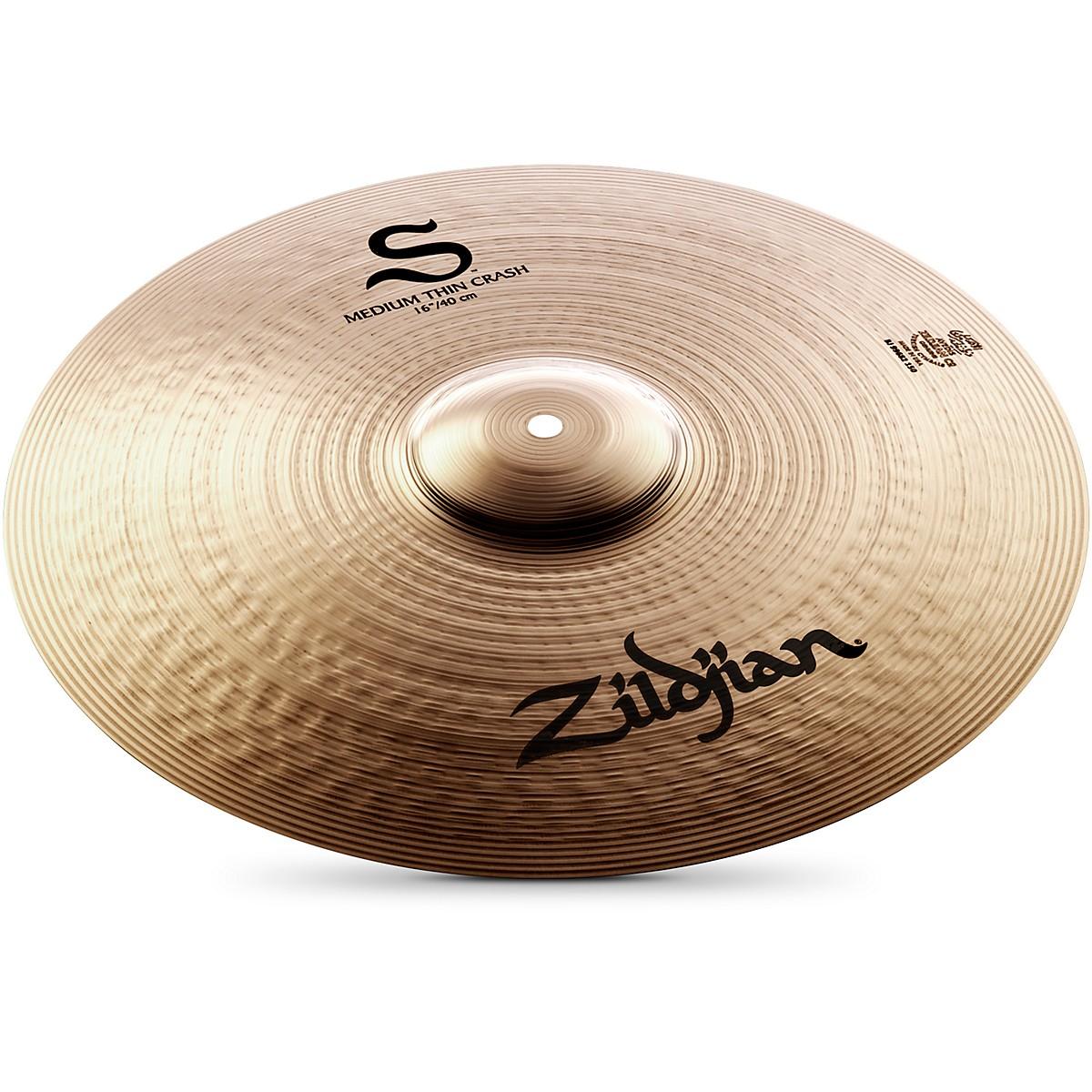 Zildjian S Family Medium Thin Crash