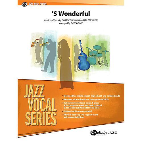 Alfred S Wonderful Jazz Vocal Band Grade 3 Set