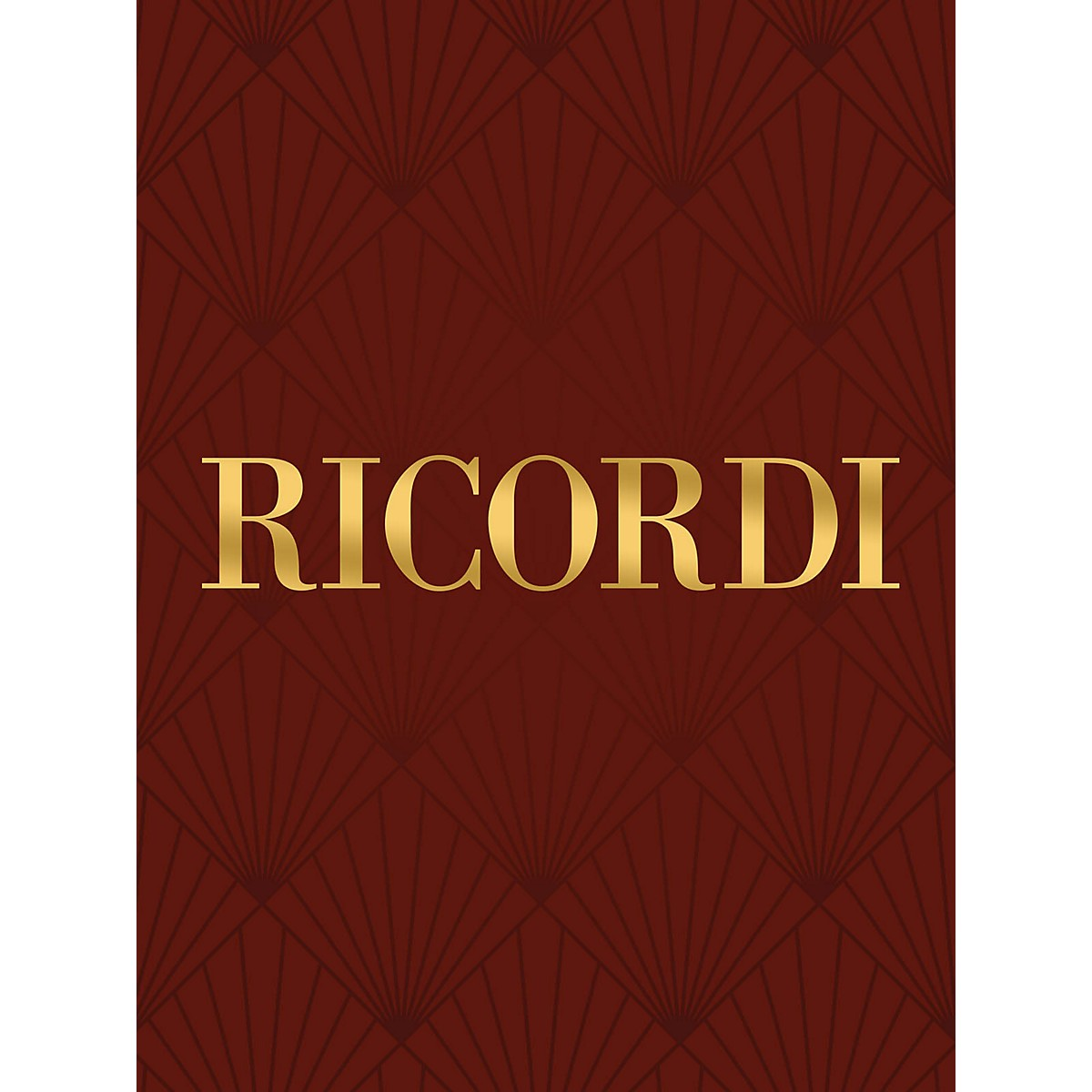 Ricordi Sì, sì, luci adorate RV666 Study Score Series Composed by Antonio Vivaldi Edited by Francesco Degrada