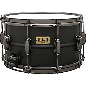 tama s l p big black steel snare drum 14 x 8 in guitar center. Black Bedroom Furniture Sets. Home Design Ideas
