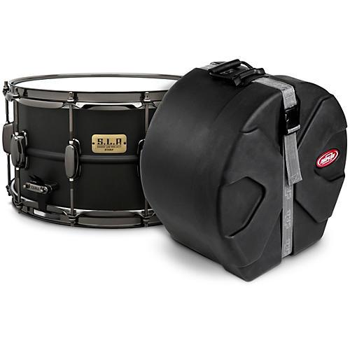 TAMA S.L.P. Big Black Steel Snare Drum with SKB Case