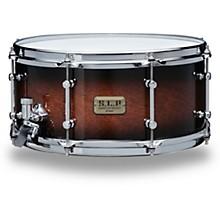 S.L.P. Dynamic Kapur Snare Drum 14 x 6.5 in. Black Kapur Burst