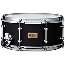 S.L.P. Dynamic Kapur Snare Drum 14 x 6.5 in. Flat Black