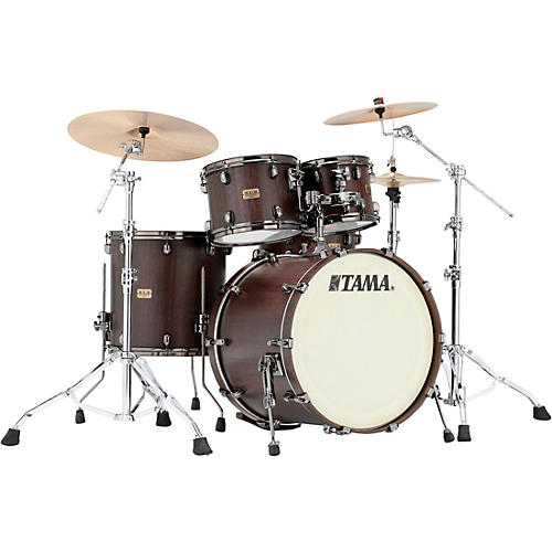 TAMA S.L.P. G-Bubinga 4-Piece Shell Pack with 22