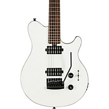 S.U.B. Axis Electric Guitar Gloss White