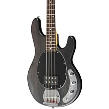 S.U.B. Ray4 Electric Bass Guitar Satin Black Rosewood Fingerboard
