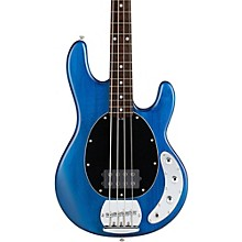 S.U.B. Ray4 Electric Bass Guitar Satin Blue Rosewood Fingerboard