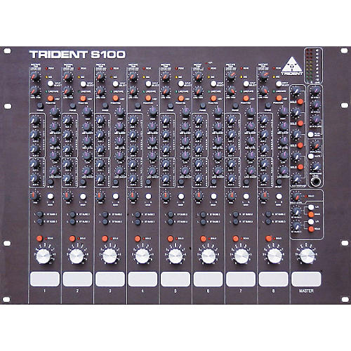 Trident Audio S100 8-Channel Mixer