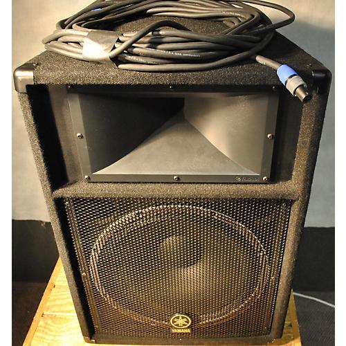 Yamaha S115v With 50 Ft Speakon Cable Unpowered Speaker