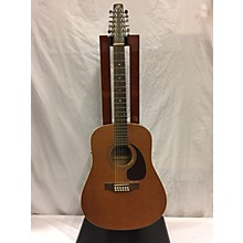 Seagull S12 Plus Cedar 12 String Acoustic Electric Guitar