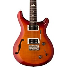 S2 Custom 22 Semi-Hollow Electric Guitar Dark Cherry Sunburst