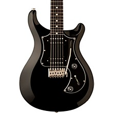 S2 Standard 24 Electric Guitar Black Black Pickguard