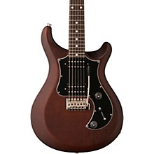 S2 Standard 24 Electric Guitar Satin Walnut Black Pickguard