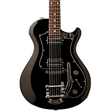 S2 Starla Electric Guitar Black Black Pickguard