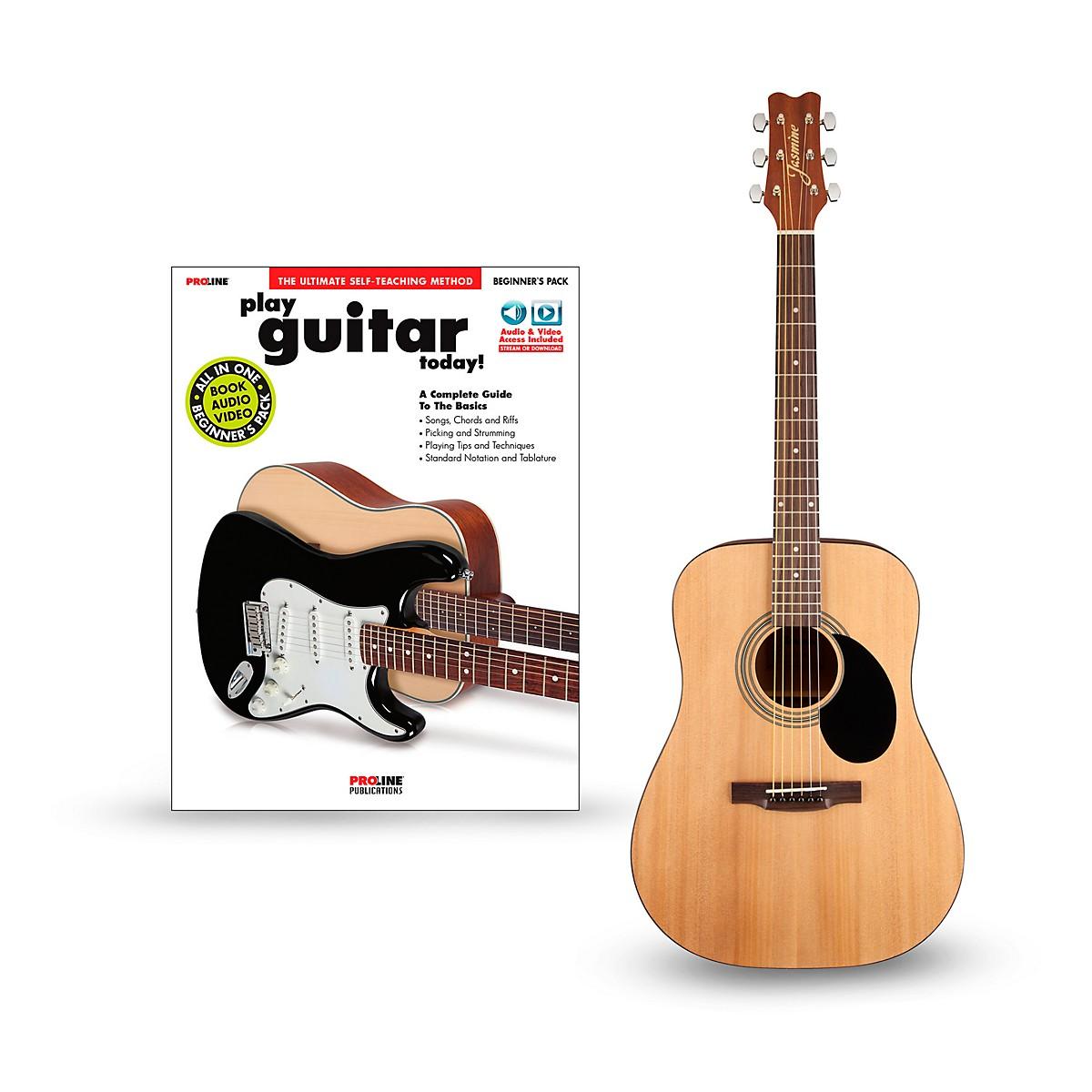 Jasmine S35 Acoustic Guitar Bundle