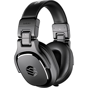 Sterling Audio S400 Studio Headphones with 40mm Drivers Black