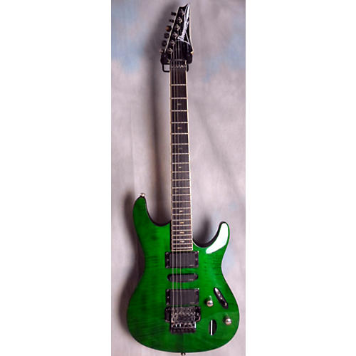 Used Ibanez S470 Trans Green Solid Body Electric Guitar Guitar Center