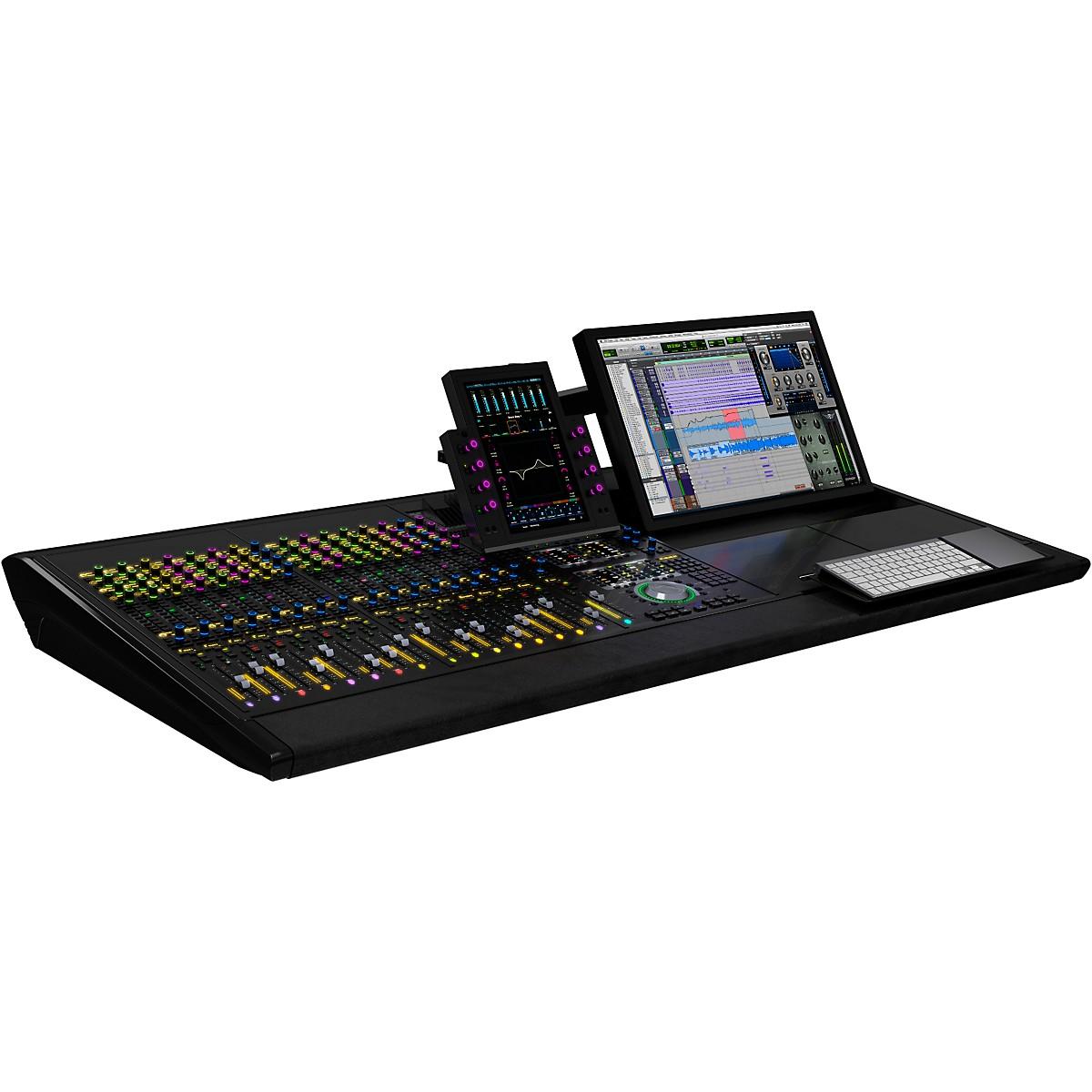 Avid S6 M10 16-5 (16 channel strips, 5 knobs per channel)