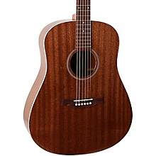 Seagull S6 Mahogany Deluxe Acoustic-Electric Guitar Level 1 Semi-Gloss Natural