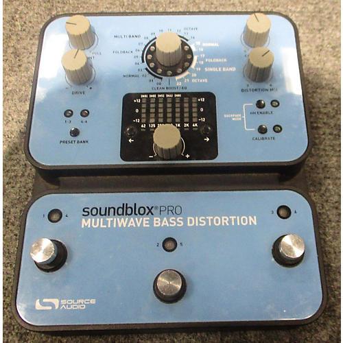Source Audio SA141 SOUNDBLOX PRO MULTIWAVE BASS DISTORTION Effect Processor