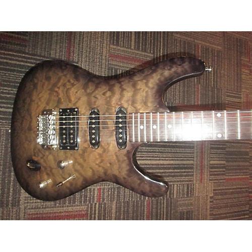 Ibanez SA160QMTG Solid Body Electric Guitar