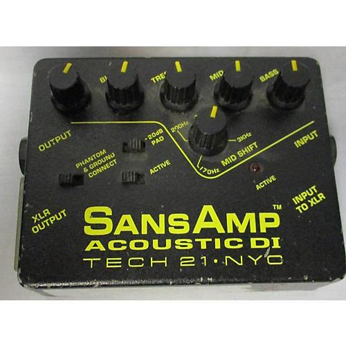 Tech 21 SANS AMP ACOUTIC Pedal