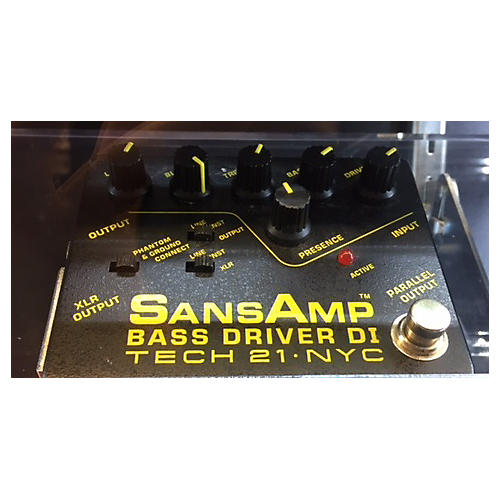 Tech 21 SANSAMP BASS DRIVER DI Bass Effect Pedal
