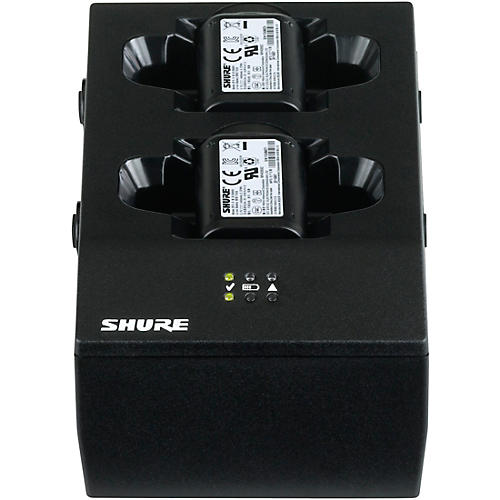 Shure SBC200 Dual-Docking Battery Charger - US Power Supply Included