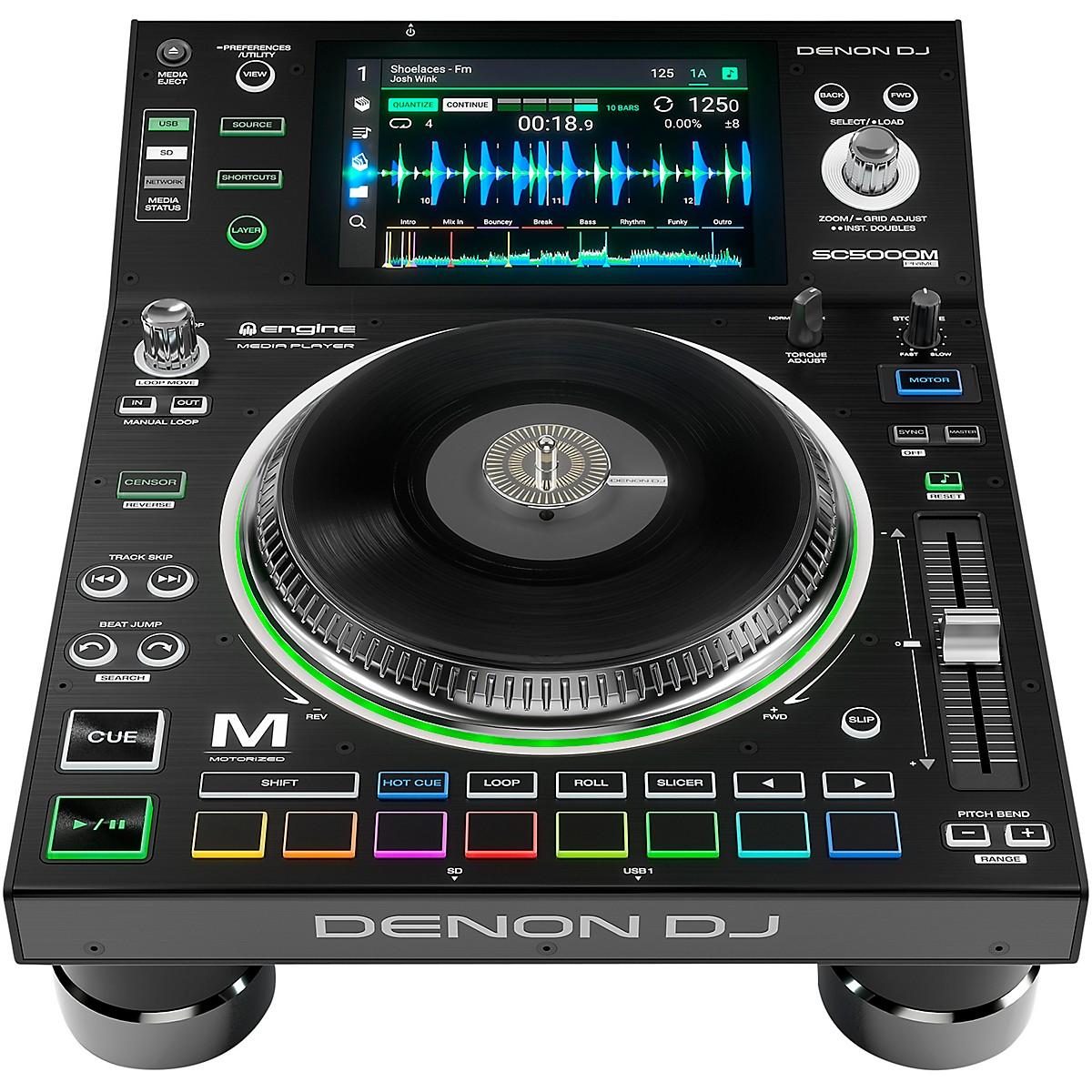 Denon SC5000M Prime Professional Motorized DJ Media Player