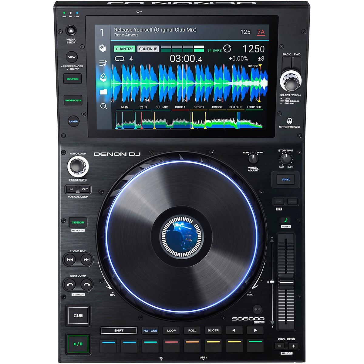 Denon DJ SC6000 PRIME Professional DJ Media Player