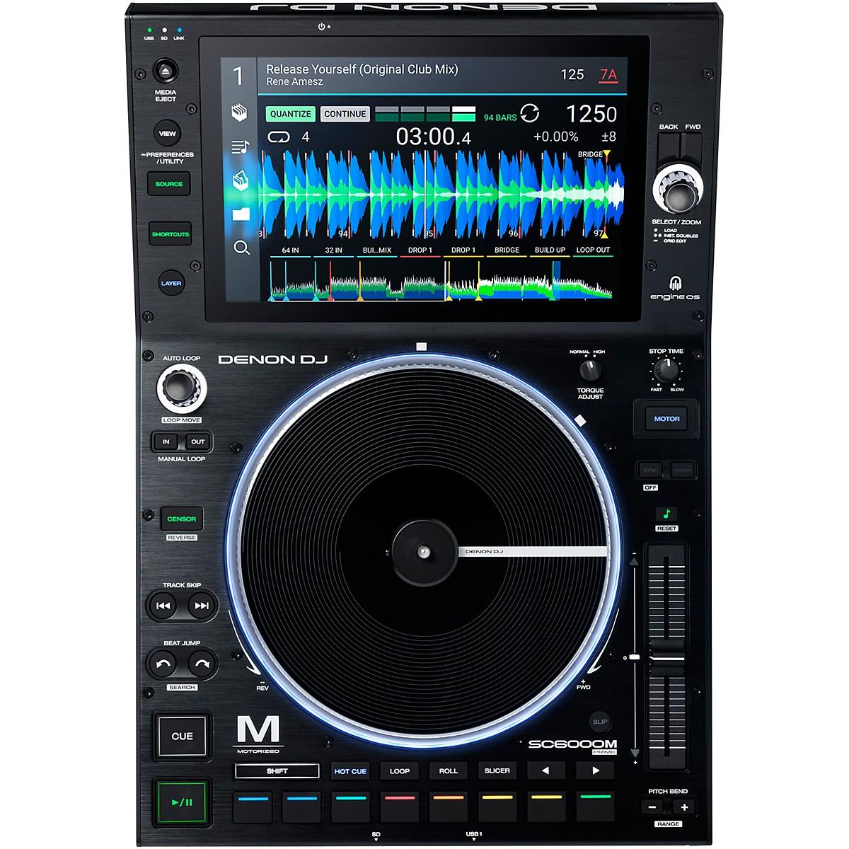 Denon SC6000M PRIME Motorized DJ Media Player