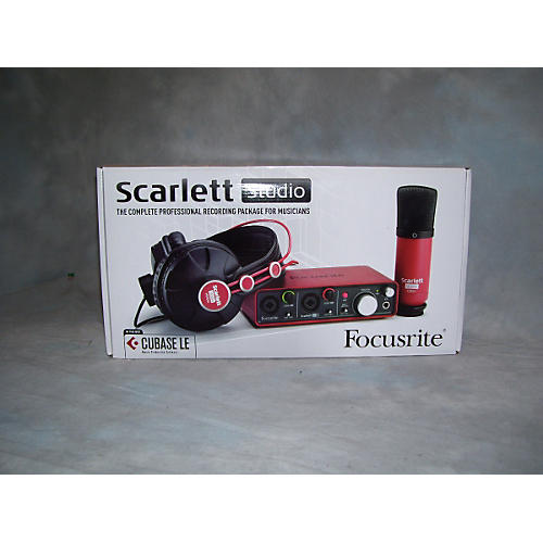 Focusrite SCARLETT STUDIO Red Audio Interface