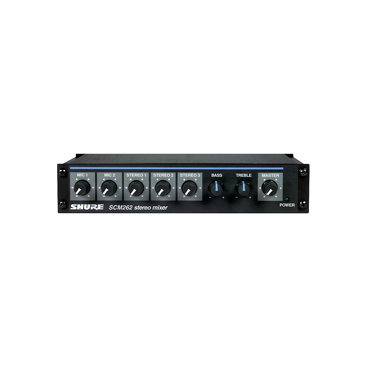 Shure SCM262 Stereo Microphone Mixer