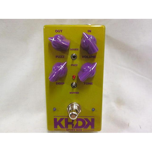 KHDK SCUZZ BOX Effect Pedal