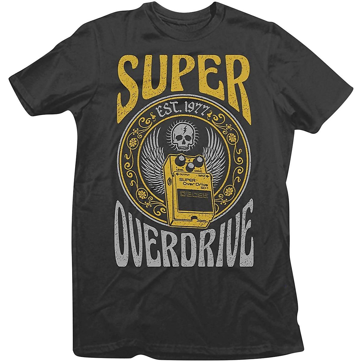 Boss SD-1 Pedal Crew Neck T-Shirt
