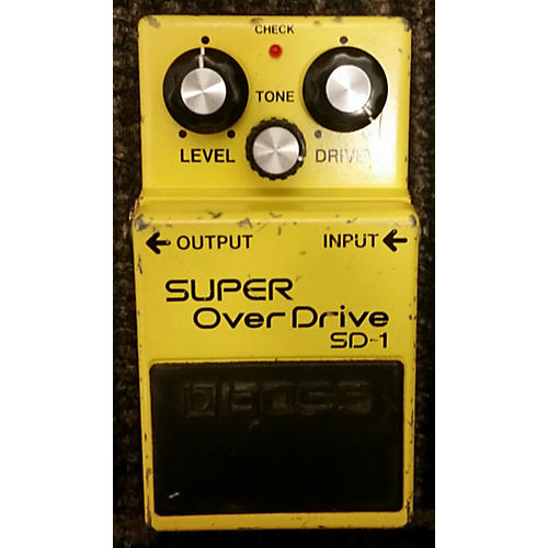 Boss SD1 Effect Pedal