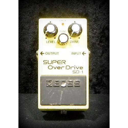 Boss SD1 Super Overdrive Effect Pedal