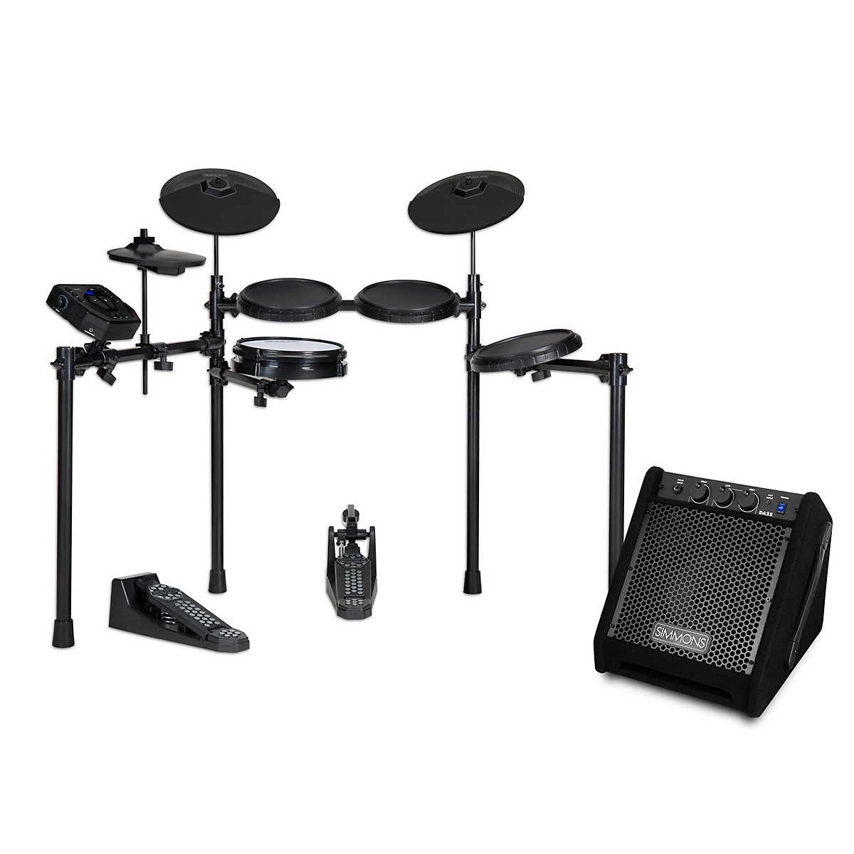 Simmons SD200 Electronic Drum Kit with DA25 Monitor