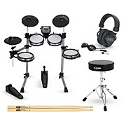 SD350 Complete Electronic Drum Set with Mesh Pads