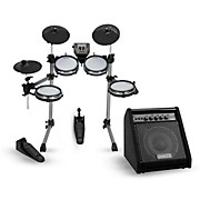SD350 Electronic Drum Kit With Mesh Pads and Simmons DA50B Bluetooth Monitor