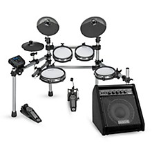 Simmons SD550 Electronic Drum Set With Mesh Pads and Simmons DA50 Monitor
