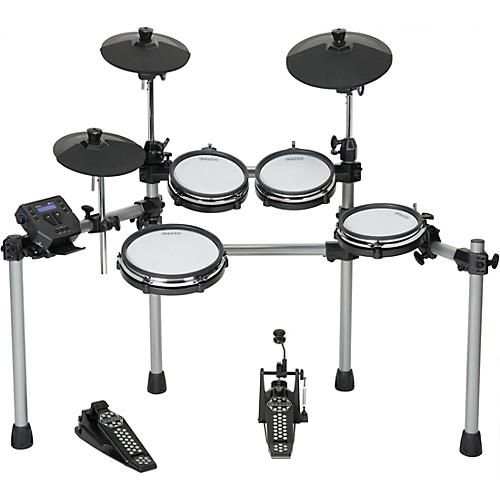 simmons sd550 electronic drum set with mesh pads guitar center. Black Bedroom Furniture Sets. Home Design Ideas