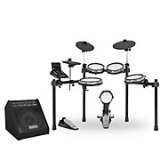 SD600 Electronic Drum Set with Mesh Heads, Bluetooth and DA50B Monitor