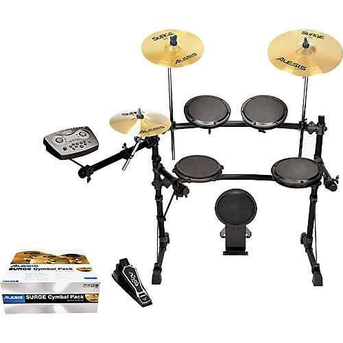 Simmons SD7 Electronic Drum Set with Alesis Surge Cymbals